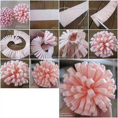Keçeden Çiçek Modelleri ve Yapımı