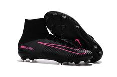 low priced 3adcb 71a72 Nike Mercurial Superfly V FG Black Pink Blast Pitch Black Collection Best  Soccer Cleats, Soccer