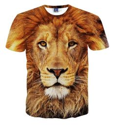 Fashion 3d print funny large lion animal #women men short #sleeve t #shirt tee to,  View more on the LINK: http://www.zeppy.io/product/gb/2/191928190773/