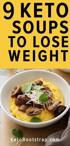 Keto soup recipes to stay in ketosis for the ketogenic diet. Low carb soup recipes for you to enjoy. Keto soup recipes to stay in ketosis for the ketogenic diet. Low carb soup recipes for you to enjoy. Low Carb Soup Recipes, Ketogenic Recipes, Diet Recipes, Lunch Recipes, Quark Recipes, Breakfast Recipes, Dessert Recipes, Keto Diet Side Effects, Starting Keto Diet
