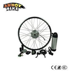 48V 250W Ebike Kits Motor bike Electric Bike Conversion Kit With LED Display LCD Optional