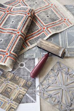 'pisa' textile design by maresca textiles
