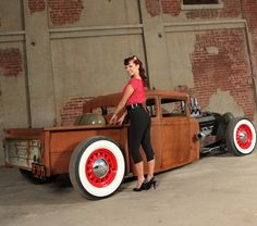 hot rods and girls | Read my Q with Natosha below while checkin' out her photos, by Pin ...
