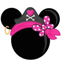 Girl Pirate Mouse Head Freebies Free SVG files for scrapbooking free svg files for cricut machines free svg files