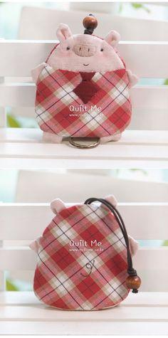 [* 핑크돼지 키홀더*]