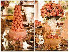 Macarrons | Docinhos | Decoração mesa de doces | Wedding | Macaron | Inesquecível Casamento