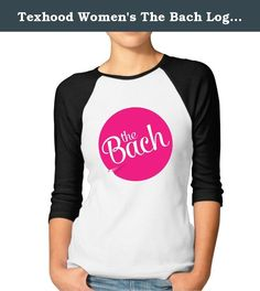 Texhood Women's The Bach Logo Customized 100% Cotton 3/4 Sleeve Raglan Tee Shirt Black XL. S: Bust: 48cm Length: 72cm\r\nM: Bust: 51cm Length: 74cm\r\nL: Bust: 53cm Length: 76cm\r\nXL: Bust: 55cm Length: 78cm\r\nXXL: Bust: 58cm Length: 82cm\r\nCUSTOMER SATISFACTION GUARANTEE: Not The Sizes You Wanted? Something Wrong With Color?\r\nPlease Message Us Anytime For Whatever Inquiries, We Are Here To Listen To Your Inquiry And All We Want Is Not Just Sales, But Earning A GREAT CUSTOMERS Like You…