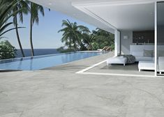 Prepare your terrace for good weather with Mystic · ITT Ceramic presents this new collection of #porcelain tiles with grey tones and delicate decorative interweave. A material with a GRIP + finish ideal for #outdoors and swimming pools. #flooring #swimmingpool #architecture #interiordesign #newin Terrace Ideas, Porcelain Tiles, Mystic, Swimming Pools, Presents, Delicate, Outdoors, Weather, Flooring