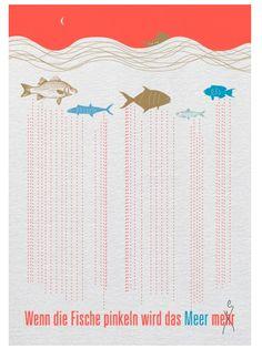 Wenn die Fische pinkeln wird das Meer mehr!