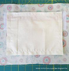 Cipzáros zseb készítése Napkins, Towels, Dinner Napkins