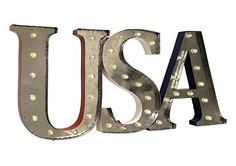 USA LED Marquee Sign
