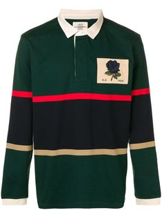 Striped Polo Shirt, Long Sleeve Tee Shirts, Green Cotton, Mens Fashion, Jackets, Clothes, Shopping, Style, Moda Masculina