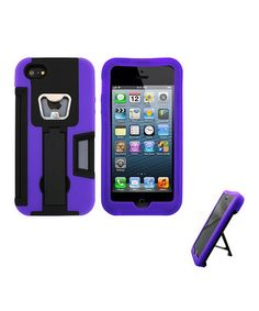 Take a look at this Purple Armor Case for iPhone 5 by Atomic9 on #zulily today!