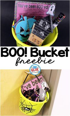 Boo! Bucket is the p