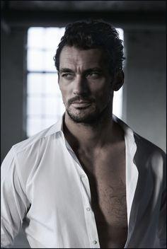 Model David Gandy Turns Detective for Rich Hardcastle's New Series ...