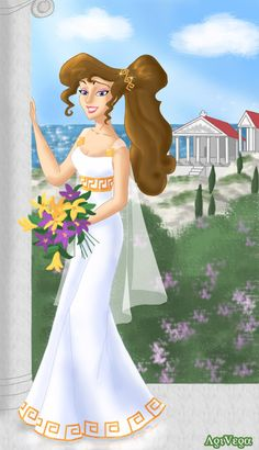 Megara the bride