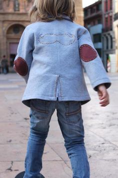 DIY: customize a blazer « Babyccino Kids: Daily tips, Children's products, Craft ideas, Recipes  More