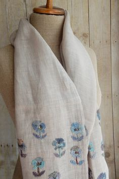 """Posey"" scarf - Sophie Digard - The French Needle"