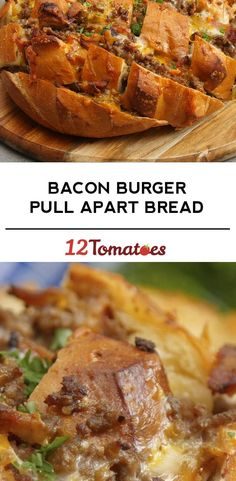 A shareable way to feed all your friends! Appetizer Dips, Yummy Appetizers, Appetizer Recipes, Crockpot Recipes, Cooking Recipes, Pull Apart Bread, Beef Dishes, Ground Beef Recipes, Finger Foods