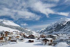 Lech, Austria - The slopes are steep, the snow is powder and the ...