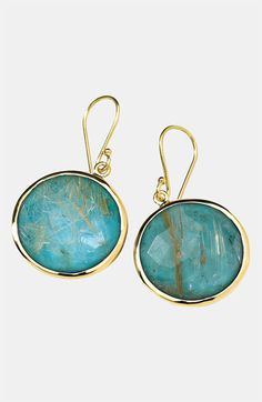Ippolita 'Rock Candy - Lollipop' 18k Gold Drop Earrings available at #Nordstrom
