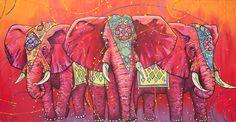 Indian Elephant    The Universal Indian Elephants by universalartist