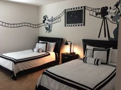 Movie themed bedrooms - home theater design ideas ...