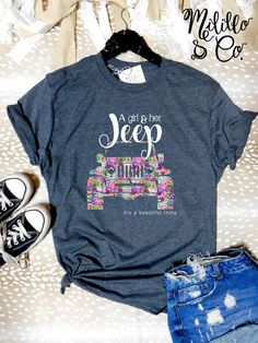 Jeep Hair Don't Care Tshirt Jeep Girl Tee Jeep Life Shirt Love Jeep Tshirt Women Jeep Gift Jeepaholic Shirt Ladies Pink Jeep Shirt Floral - Do It YourSelf Pink Jeep, Girls Tees, Shirts For Girls, Jeep Tshirts, Jeep Clothing, Woman Clothing, Jeep Gifts, T Shirt, Cars