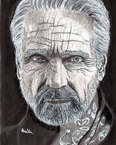 Products by Anita Csernak (Kolormagic) Jeremy Irons, Lee Jeffries, Portraits, Drawings, Painting, Products, Sketches, Head Shots, Painting Art