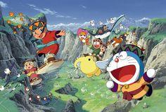 Doraemon y Los Dioses del Viento.