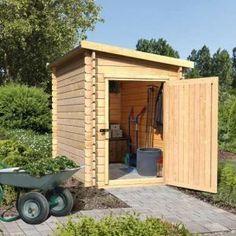 Abri de jardin look scandinave ! | Abris et garages de jardin ...