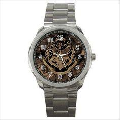HARRY POTTER HOGWARTS SCHOOL Quality Sport Metal Wrist Watch Gift D02