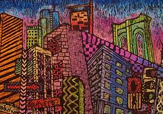 Abstract Cityscapes  Hoover HS