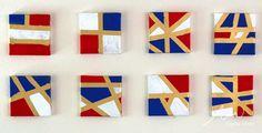 Easy DIY Geometric Art for Patriotic Holidays! | Alpha Mom