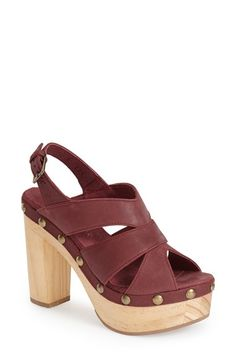 five+worlds+by+Cordani+'Tabasco'+Platform+Sandal+(Women)+available+at+#Nordstrom