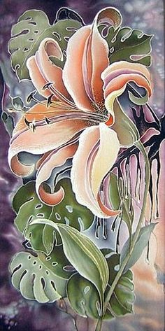 Russian silk painting                                                                                                                                                     More
