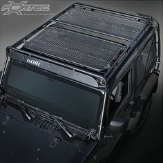 Gobi Racks Stealth Roof Rack System for Jeep Wrangler JK Jeep Wrangler Parts, Jeep Wrangler Sahara, Jeep Wranglers, Wrangler Jk, Pickup Accessories, Wrangler Accessories, Jeep Racks, Gobi Rack, Off Road Camping
