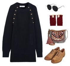 """Untitled #333"" by ichanee on Polyvore featuring American Rag Cie, Chloé and Barbour"