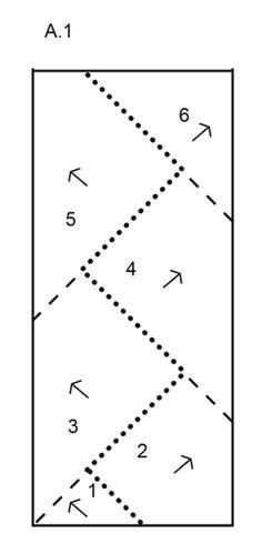 Tara - Sættet består af: Strikket DROPS alpehue og pulsvarmere med dominoruder…