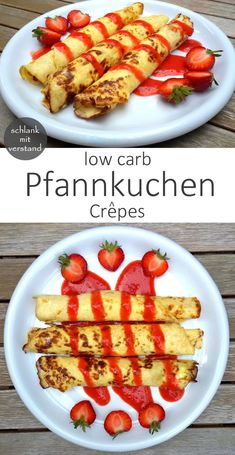 low carb Crêpes – dünne Pfannkuchen low carb Pfannkuchen / Crepe… low carb crepes – thin pancakes low carb pancakes / crepes Great for breakfast and perfect for losing weight as part of a low carb / lchf / keto diet Low Carb Crepes, Low Carb Pancakes, Low Carb Desserts, Protein Pancakes, Clean Eating Recipes, Diet Recipes, Healthy Recipes, Lunch Recipes, Keto Foods