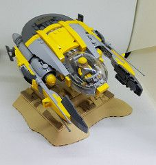 8U9 | by tomblackettdesign Biscuit, Lego Ship, Lego Spaceship, Lego Construction, Cool Lego Creations, Lego Projects, Lego Moc, Building Toys, Lego Star Wars