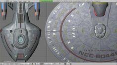 Comparison of Nova-class starship with Nebula-class starship.