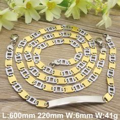 Find More Jewelry Sets Information about HOT Stainless Steel fashion Jewelry Popula gold silver color Necklace Bracelet  sets for men and women SFXADUCD,High Quality bracelet and earring set,China bracelet fish Suppliers, Cheap settings system from JOYAS STAINLESS STEEL JEWELRY on Aliexpress.com