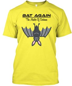 Bat Again             The Master Of Darkness Yellow Kaos Front