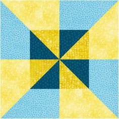 Try a Pinwheel Quilt Block Pattern With Double the Spin: How to Make Double Pinwheel Quilt Blocks