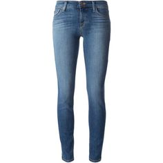 J Brand skinny jeans (1,955 HKD) ❤ liked on Polyvore featuring jeans, pants, bottoms, skinny jeans, blue, blue jeans, j brand, cut skinny jeans and j brand skinny jeans