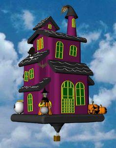 Halloween House Balloon
