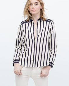 ZARA - WOMAN - STRIPED SHIRT
