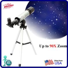 F360x50 HD Refractive Astronomical Telescope High Magnification Zoom Monocular #IPRee