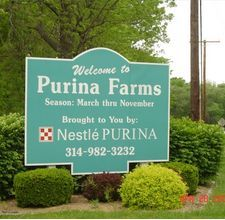 Purina Farms.Cool place for animal lovers. Easter and Halloween are amazing.